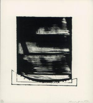 Harvey Quaytman, o.T., Lithographie