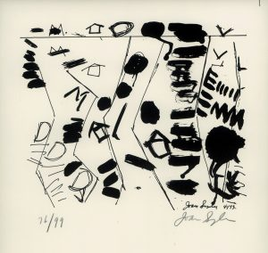 Joan Snyder, o.T., Lithographie