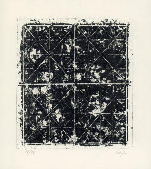 Vincent Longo, o.T., Lithographie