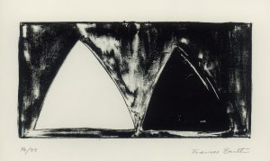 Frances Barth, o.T., Lithographie