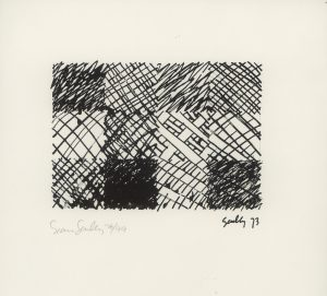 Sean Scully, o.T., Lithographie