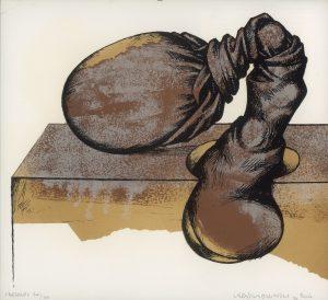 Horst Egon Kalinowski, Besace – Der Sack, Lithographie