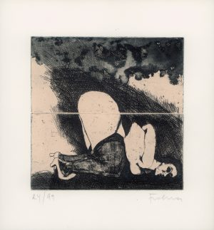 Adolf Frohner, Bindungen, Radierung