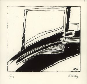 Paul Rotterdam, o.T., Lithographie