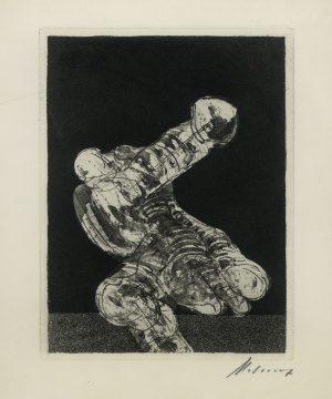 Rudolf Hoflehner, o.T., Radierung