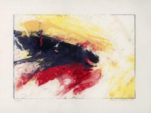 Felix Haspel, o.T., Farblithographie