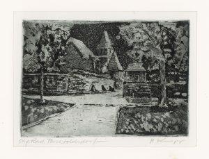 Heinz Knapp, Perchtoldsdorf, Radierung