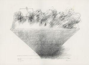 Paul Flora, Penthouse, Flachdruck