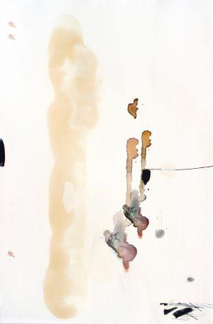 Johannes Heuer, Woher?, Aquarell, Inkjet, Öl