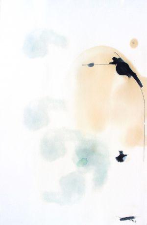 Johannes Heuer, Worin?, Aquarell, Inkjet, Öl