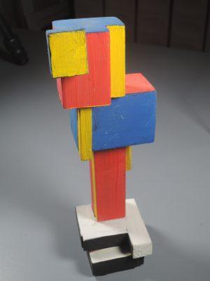 NACH VANTONGERLOO  Für eine neue Welt  Skulptur/Plastik, Holz