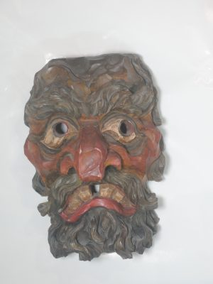 N.N., Tiroler Maske, Schnitzwerk