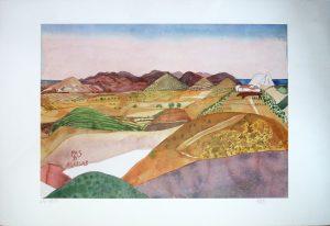 Aguilas (Spanien), Herbert Pasiecznyk, Lithographie 265/300 signiert