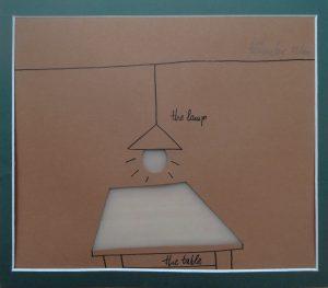 Home sweet home, Cilaus Böhmer, Radierung/Collage 35/100 signiert
