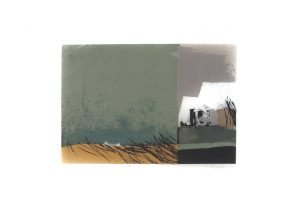 Herbst, Günter Wolfsberger, Lithographie 5/15 Probedruck signiert
