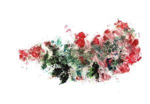 Biarritz, Jungfrau Johanna Artmann, Noppenfoliendruck 1/1 verso signiert