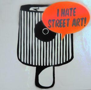 Sebastian Nowak, I hate street art, Keramikfliese