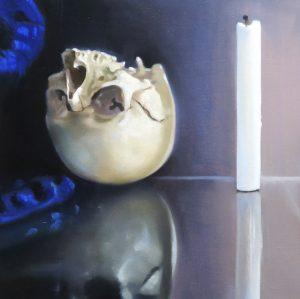 Lubomir Hnatovic, Vanitas 2, Öl auf Leinwand