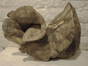 Rolf Laven, Élan vitale en Raku 1, Keramik, (2019)